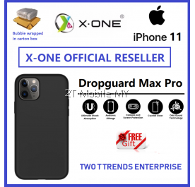 Apple iPhone 11 / iPhone 11 Pro / iPhone 11 Pro Max X-One Dropguard 3s Max Pro Matte Anti-Fingerprint Case Bumper Cover