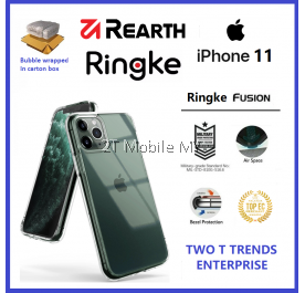 Apple iPhone 11 / iPhone 11 Pro / iPhone 11 Pro Max Rearth Ringke Fusion TPU Case Cover ORI
