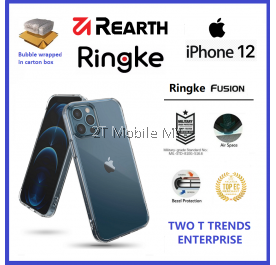 Apple iPhone 12 / iPhone 12 Mini / iPhone 12 Pro / iPhone 12 Pro Max / iPhone 11 Rearth Ringke Fusion TPU Case Cover ORI