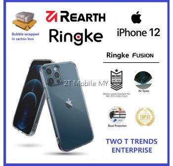 Apple iPhone 12 / iPhone 12 Mini / iPhone 12 Pro / iPhone 12 Pro Max / iPhone 11 Rearth Ringke Fusion TPU Case Cover ORI