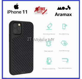 Apple iPhone 11 / iPhone 11 Pro / iPhone 11 Pro Max Mous Aramax Airoshock High Impact Shockproof Case Bumper Cover