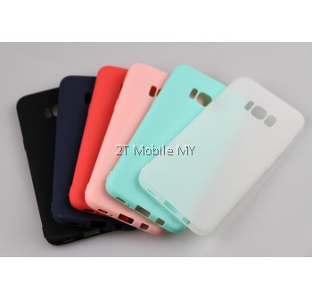 Samsung Galaxy Note 8 S8 S8 Plus C9 Pro Soft Jacket Slim TPU Matte Case Cover
