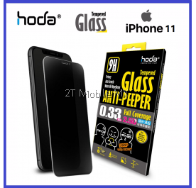 Apple iPhone 11 / 11 Pro / 11 Pro Max / XS / XR / Max HODA 0.33mm 2.5D Anti-peeper Tempered Glass Privacy ORI