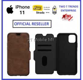 Apple iPhone 12 / 12 Mini / 12 Pro / 12 Pro Max / iPhone 11 Otterbox Strada Leather Flip Case Bumper Cover ORI