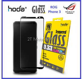 Asus ROG Phone 3 / ROG Phone 2 HODA / ROG Phone 2.5D Full Coverage Tempered Glass Screen Protector ORI