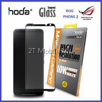 Asus ROG Phone 2 HODA Full Coverage Matte Anti Glare Tempered Glass Best Gaming Screen Protector ORI