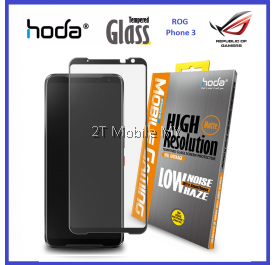 Asus ROG Phone 3 / ROG Phone 2 HODA Full Coverage Matte Anti Glare Tempered Glass Best Gaming Screen Protector ORI