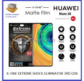 Huawei Mate 30 X-One Matte Anti-Fingerprint Extreme Shock Eliminator Screen Protector ORI