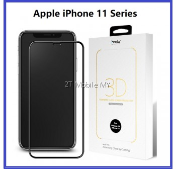 Apple iPhone 11 / 11 Pro / 11 Pro Max / X / XS / XR / XS Max Hoda AGBC 3D Full Cover Tempered Glass Screen Protector ORI