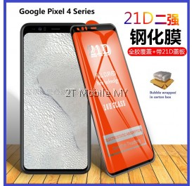 Google Pixel 4 / Pixel 4 XL 21D Full Cover Full Glue Tempered Glass Screen Protector