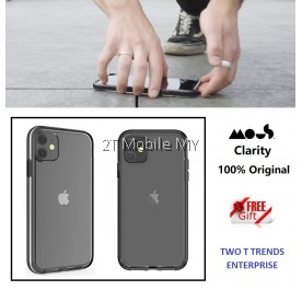 Apple iPhone 12 / 12 Mini / 12 Pro / 12 Pro Max / XS Max Mous Clarity High Impact Protection Clear Case with AiroShock