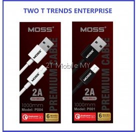 MOSS Type-C / Apple / Micro USB Premium Cable 1000mm /1500mm ORIGINAL