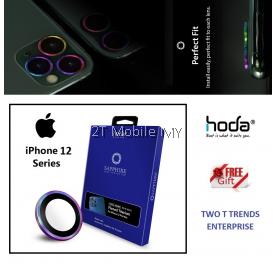 Apple iPhone 12 / 12 Mini / 12 Pro / 12 Pro Max / 11 / 11 Pro / 11 Pro Max Hoda Sapphire Camera Lens Protector Frame ORI