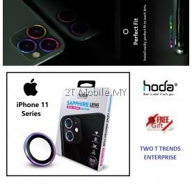 Apple iPhone 11 / iPhone 11 Pro / iPhone 11 Pro Max Hoda Sapphire Camera Lens Protector Frame ORI