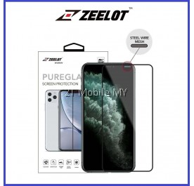 Apple iPhone 11 / 11 Pro / 11 Pro Max / XS Max / XR / XS Zeelot Steel Wire PureGlass 2.5D Tempered Glass Clear / Matte / Anti-Blue / Privacy