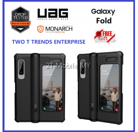 Samsung Galaxy Fold UAG Urban Armor Gear Monarch Military Drop Protection Case Bumper Cover ORIGINAL