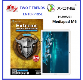 Huawei Mediapad M6 / T5 / M5 Lite / M5 Pro X-One Extreme Shock Eliminator Screen Protector 3rd Gen ORI