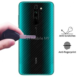 XiaoMi RedMi K30 Carbon Matte Fiber Film Back Protector Anti-Fingerprint