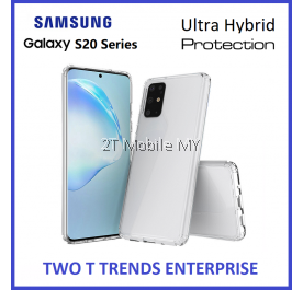 Samsung Galaxy S20 Plus / S20 Ultra / S20+ Air Hybrid TPU Case Slim Bumper Fusion Cover