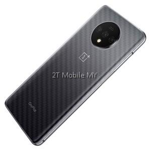 OnePlus 7T Pro / OnePlus 7T / OnePlus 7 Pro Back Carbon Matte Film Protector Anti Fingerprint