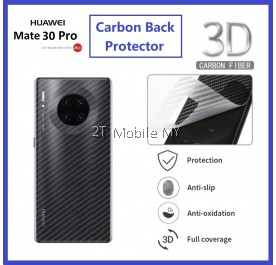 Huawei Mate 30 / Mate 30 Pro Back Carbon Matte Film Protector Anti Fingerprint