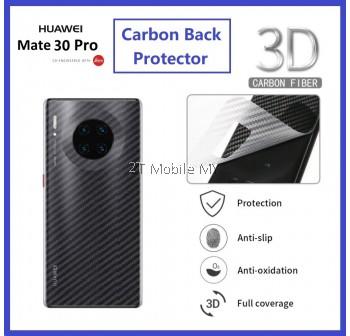 Huawei Mate 40 Pro / Mate 30 / Mate 30 Pro Back Carbon Matte Film Protector Anti Fingerprint