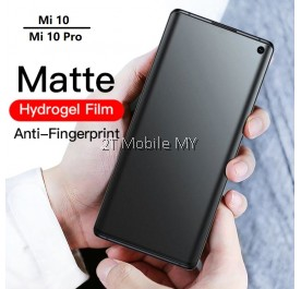 XiaoMi Mi 10 / Mi 10 Pro Front Back Matte Anti-Fingerprint Full Soft Hydrogel Screen Protector