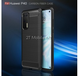 Huawei P40 Pro Slim Fit Rugged Armor Bumper TPU Case Cover
