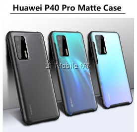 Huawei P40 Pro Matte Anti-Fingerprint Bumper Case Cover