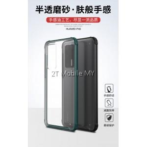 Huawei P40 Pro Matte Anti-Fingerprint Bumper Case Cover