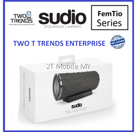 Sudio FemTio Waterproof IPX 6 Portable Wireless Speaker Dual Device Pair (10W+10W) ORI