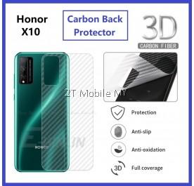 Huawei Honor X10 Back Carbon Matte Film Protector Anti Fingerprint