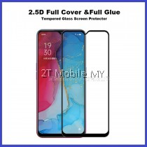 Oppo Reno 3 Full Glue Cover Tempered Glass Screen Protector