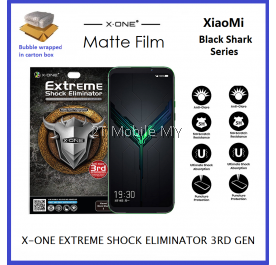 XiaoMi Black Shark 3 / Black Shark 3 Pro / Black Shark 2 X-One Matte Anti-Fingerprint Extreme Shock Screen Protector ORI