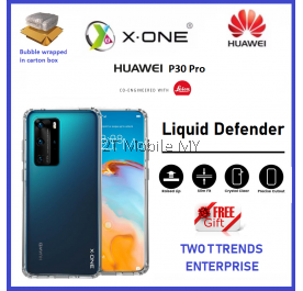 Huawei P40 Pro Plus / P40 / P40 Pro X-One Liquid Defender Clear Transparent Slim Case Cover Original