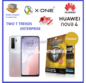 Huawei Nova 7 SE X-One Extreme Shock Eliminator Screen Protector 3rd Gen.