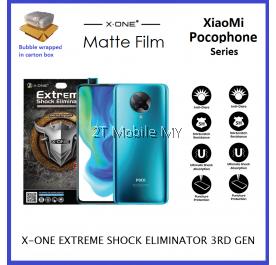 XiaoMi Pocophone F2 Pro / K30 Pro X-One Matte Anti-Fingerprint Extreme Shock Screen Protector ORI