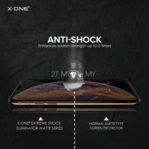 XiaoMi Pocophone F2 Pro / K30 Pro X-One Matte Anti-Fingerprint Extreme Shock Screen Protector ORI