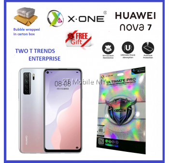 Huawei Nova 7 / Nova 7 SE X-One Ultimate Pro Shock Upgraded Screen Protector Original