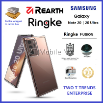 Samsung Galaxy Note 20 / Note 20 Ultra Rearth Ringke Fusion TPU Case Cover ORI