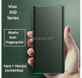 Vivo X50 / X50 Pro Front Back Matte Anti-Fingerprint Full Soft Hydrogel Screen Protector