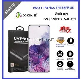 Samsung Galaxy S20 / S20 Plus / S20 Ultra / S10 S9 X-One Matte Anti-Fingerprint UV Pro Full Loca UV Glue Tempered Glass