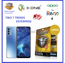 Oppo Reno 4 X-One Extreme Shock Eliminator Screen Protector 3rd Gen ORI
