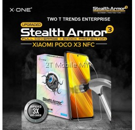 XiaoMi Poco X3 Pro / Poco F3 / X3 NFC / M3 / F2 Pro / Poco F1 X-One Stealth Armor 3 Clear / Matte Screen Protector Film
