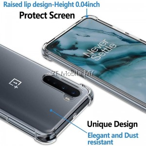 OnePlus Nord Soft Transparent Clear Airbag Shockproof Slim Bumper Case Cover