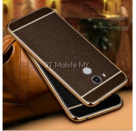 XiaoMi RedMi Note 4 Leather High Quality Electoplating Edge TPU Cover