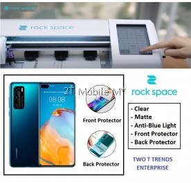 Huawei P40 / P40 Pro / P40 Pro Plus Rock Space Clear Matte Anti Blue Light Hydrogel Screen Protector Rockspace