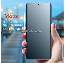 OnePlus Nord / OnePlus 8 / 1+8 Pro / 7T Pro / 7 Pro Matte Anti-Fingerprint Soft Hydrogel Screen Protector Front Back