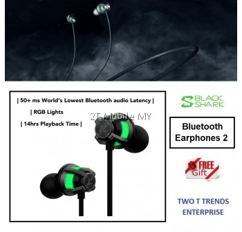 Black Shark Bluetooth Earphones 2 Gaming Bluetooth Earphone
