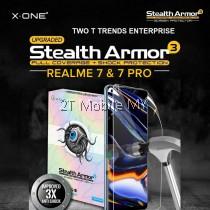 RealMe 7 / RealMe 7 Pro X-One Stealth Armor 3 Clear / Matte Screen Protector Anti Shock Film
